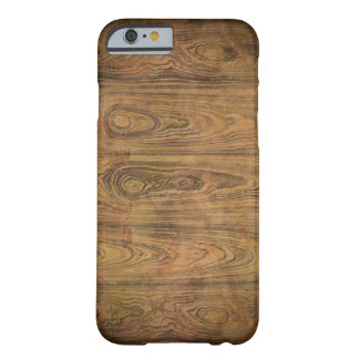 Coque iPhone 6 Barely There bois primitif de grange de pays occidental de