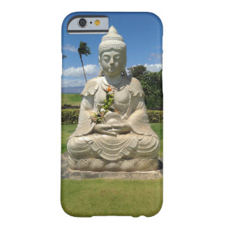 Coque iPhone 6 Barely There Bouddha dans Waikoloa, Hawaï