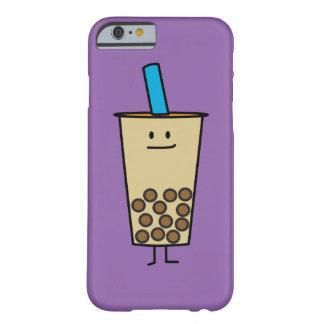 Coque iPhone 6 Barely There Boules de tapioca de thé de lait de perle de Boba