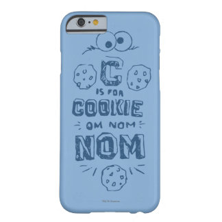 Coque iPhone 6 Barely There C est pour le biscuit