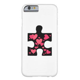 Coque iPhone 6 Barely There Cadeau de sensibilisation sur l'autisme d'amour
