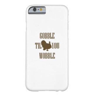 Coque iPhone 6 Barely There Cadeau drôle de thanksgiving de la Turquie