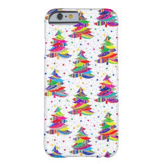 Coque iPhone 6 Barely There Caisse colorée de l'iPhone 6 de flocons de neige
