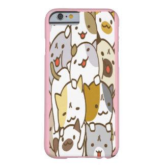 Coque iPhone 6 Barely There Caisse empilée de portable de chatons de Chibi