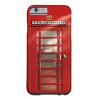 Coque iPhone 6 Barely There Caisses rouges britanniques vintages de coutume de