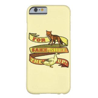 Coque iPhone 6 Barely There Calembour drôle d'animal de canard de Fox