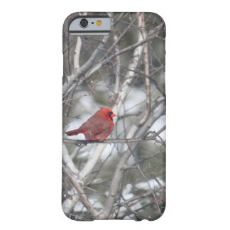 Coque iPhone 6 Barely There Cardinal d'hiver
