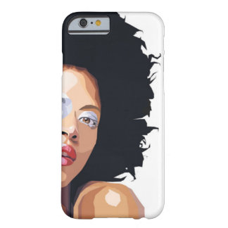 Coque iPhone 6 Barely There cas Afro-central de l'iPhone 6