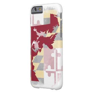 Coque iPhone 6 Barely There Cas de l'iPhone 6/6s d'aquarelle du Maryland