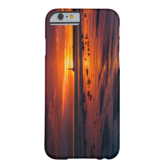 Coque iPhone 6 Barely There Cas de l'iPhone 6/6S de lever de soleil de Roker