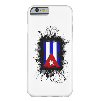 Coque iPhone 6 Barely There Cas de l'iPhone 6 de drapeau du Cuba