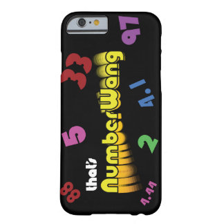 Coque iPhone 6 Barely There Cas de l'iPhone 6 de NumberWang