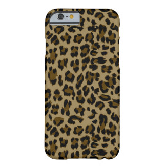 Coque iPhone 6 Barely There Cas de l'iPhone 6 d'empreinte de léopard à peine