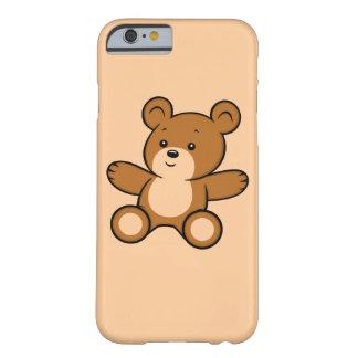 Coque iPhone 6 Barely There Cas de l'iPhone 6 d'ours de nounours de bande