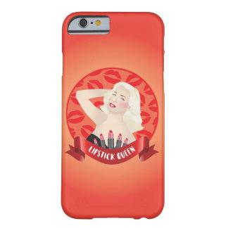 Coque iPhone 6 Barely There Cas de pin-up blond de téléphone de diva de rétro