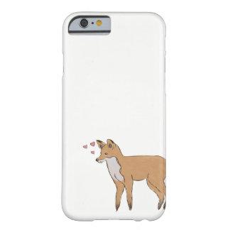 Coque iPhone 6 Barely There Cas de téléphone avec le Fox mignon