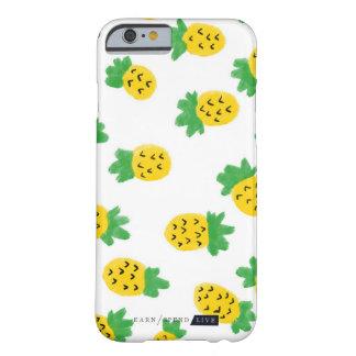 Coque iPhone 6 Barely There Cas de téléphone d'ananas d'été