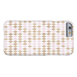 Coque iPhone 6 Barely There cas de téléphone de conception de motif de diamant