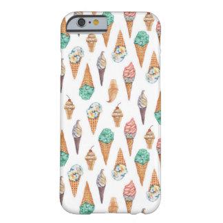 Coque iPhone 6 Barely There Cas de téléphone de crème glacée