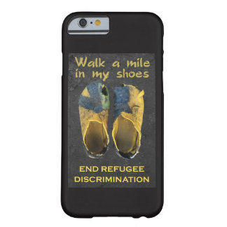 Coque iPhone 6 Barely There Cas de téléphone de réfugiés de soutien