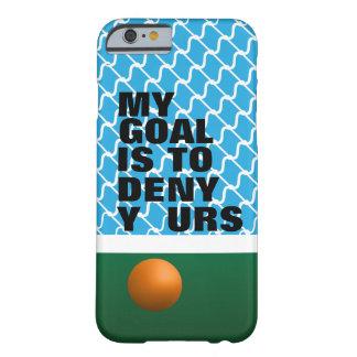 Coque iPhone 6 Barely There Cas de téléphone d'hockey de champ