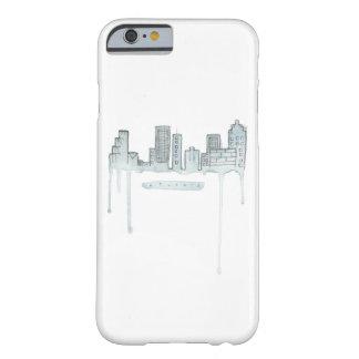 Coque iPhone 6 Barely There Cas de téléphone d'horizon d'Atlanta