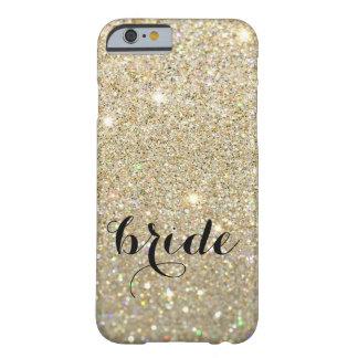 Coque iPhone 6 Barely There Cas de téléphone - jeune mariée ouvrière d'or