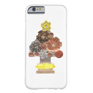 Coque iPhone 6 Barely There Cas d'IPhone 6/6s d'arbre de Noël de Steampunk