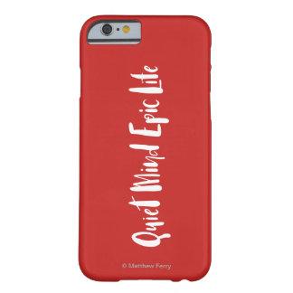 Coque iPhone 6 Barely There Cas épique de téléphone de la vie d'esprit