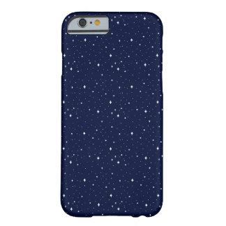 Coque iPhone 6 Barely There Cas étoilé de téléphone de ciel d'art de pixel