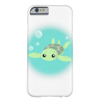 Coque iPhone 6 Barely There Cas mignon de Smartphone de tortue de mer