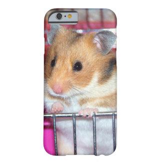 Coque iPhone 6 Barely There Cas mignon de téléphone de hamster