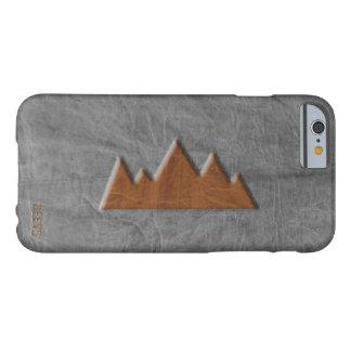 "Coque iPhone 6 Barely There cas montagne"" Heevs™ ""de l'iPhone 6/6S de cuir"