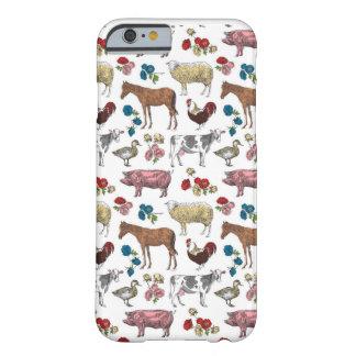 Coque iPhone 6 Barely There Cas pelucheux de téléphone de beauté de ferme de