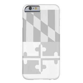 Coque iPhone 6 Barely There Cas (vertical) de téléphone de drapeau du Maryland
