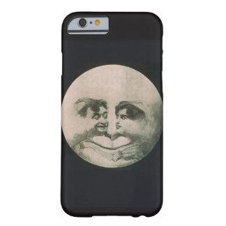 """Coque iPhone 6 Barely There Cas vintage de téléphone """"d'amants de lune"""""""