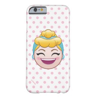 Coque iPhone 6 Barely There Cendrillon Emoji | Cendrillon - heureuse