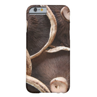 Coque iPhone 6 Barely There Champignons de Brown Portabella