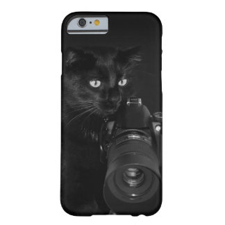 Coque iPhone 6 Barely There Chat avec l'appareil-photo
