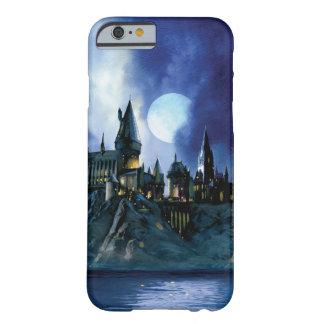 Coque iPhone 6 Barely There Château de Harry Potter | Hogwarts la nuit