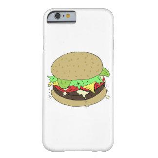 Coque iPhone 6 Barely There Cheeseburger avec de la salade