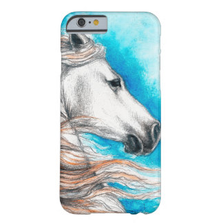 Coque iPhone 6 Barely There Cheval andalou