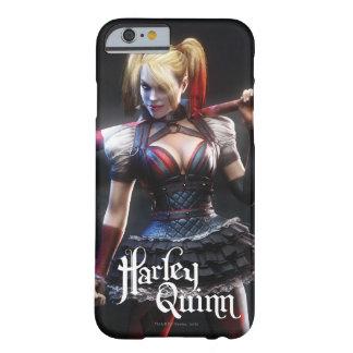 Coque iPhone 6 Barely There Chevalier de Batman Arkham | Harley Quinn avec la