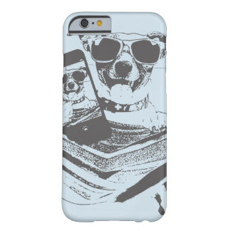 Coque iPhone 6 Barely There chiens de selfie