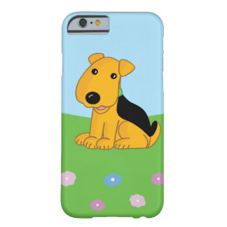 Coque iPhone 6 Barely There Chiot dans le cas de l'iPhone 6/6s de champ à