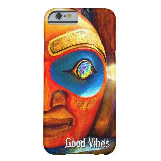 """Coque iPhone 6 Barely There Citation de """"bon vibraphone"""", photo en bois de"""