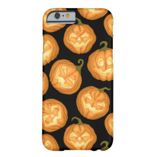 Coque iPhone 6 Barely There Citrouilles de Halloween