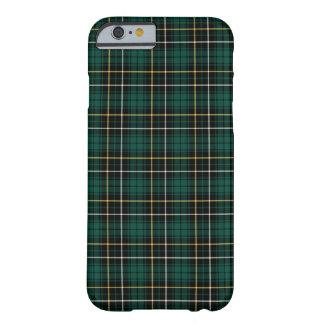 Coque iPhone 6 Barely There Clan tartan vert et noir de MacAlpine