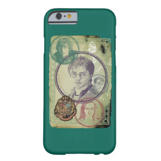 Coque iPhone 6 Barely There Collage 9 de Harry Potter