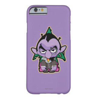 Coque iPhone 6 Barely There Compte von Count Zombie